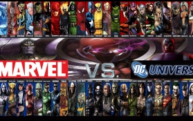 Marvel vs Detective Comics (DC)